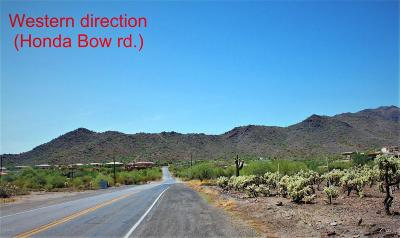 Phoenix Residential Lots & Land For Sale: 6xx (G) W Honda Bow Road