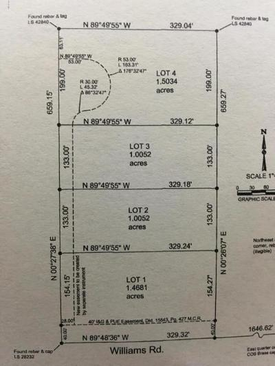 Surprise Residential Lots & Land For Sale: 221xx W Williams Road