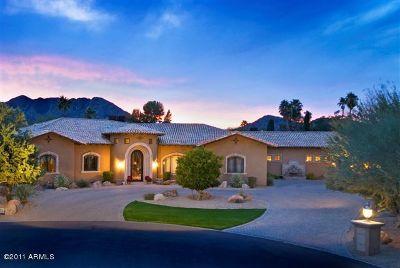 Paradise Valley Single Family Home For Sale: 8636 N Via La Serena Lane