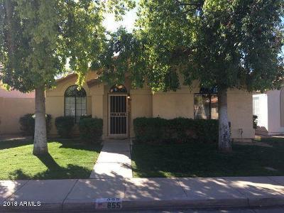 Gilbert Condo/Townhouse For Sale: 855 E Vaughn Avenue