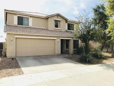 Goodyear Single Family Home UCB (Under Contract-Backups): 17163 W Hilton Avenue