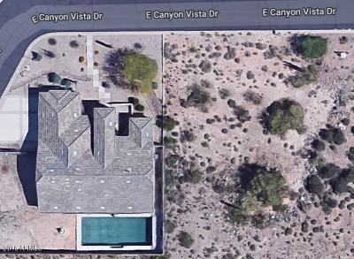Quail Canyon, Quail Canyon At The Superstitions Residential Lots & Land For Sale: 8829 E Canyon Vista Drive