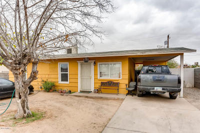 Phoenix Single Family Home UCB (Under Contract-Backups): 1335 E La Salle Street