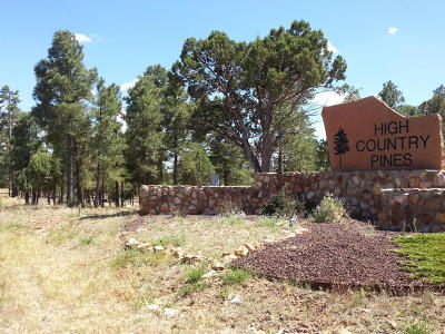Heber AZ Residential Lots & Land For Sale: $49,500
