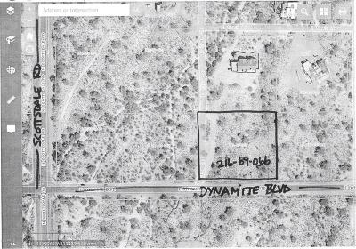 Residential Lots & Land For Sale: 7322 E Dynamite Boulevard