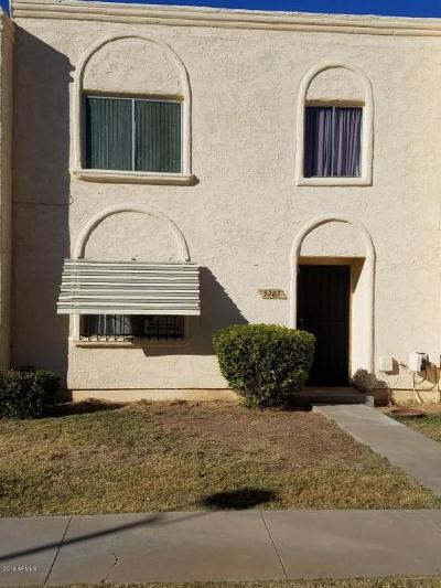 Glendale Condo/Townhouse For Sale: 5707 N 43rd Lane
