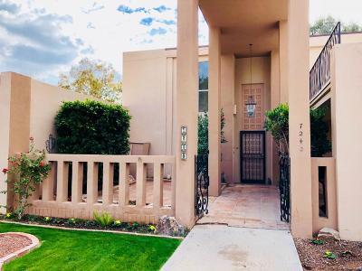 Scottsdale Condo/Townhouse For Sale: 7240 N Via De La Montana