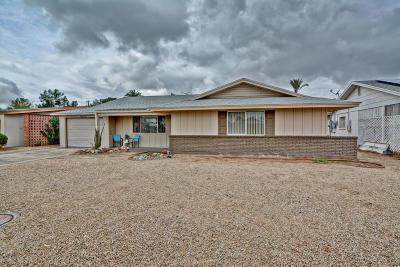 Sun City AZ Single Family Home For Sale: $174,900