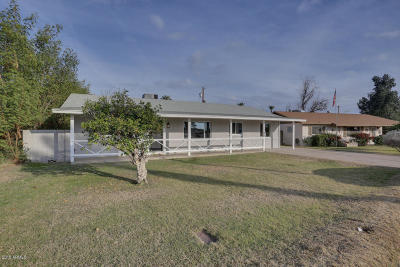 Phoenix Single Family Home For Sale: 3313 N 43rd Place