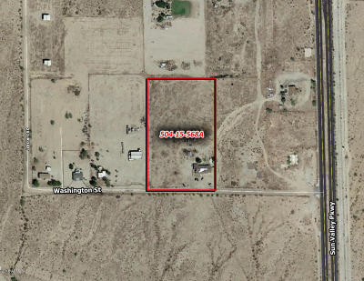 Buckeye Residential Lots & Land For Sale: 29208 W Washington Street