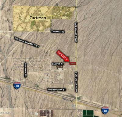 Buckeye Residential Lots & Land For Sale: 1327 N Palo Verde Road