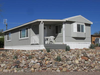 Queen Valley AZ Mobile/Manufactured For Sale: $109,000