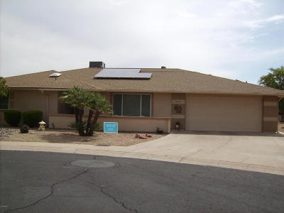 Sun City Rental For Rent: 19627 N Conquistador Drive