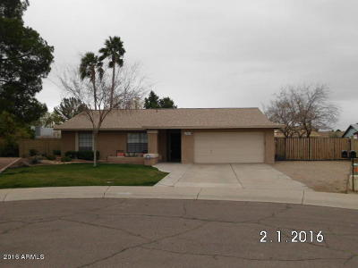 Peoria Rental For Rent: 12463 N 73rd Avenue