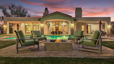 Paradise Valley Single Family Home For Sale: 5340 E Via Los Caballos