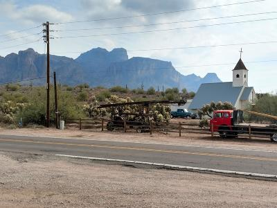 Apache Junction Residential Lots & Land For Sale: 4000 NE Az-88 Highway