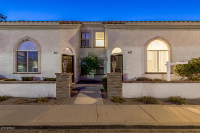Mesa Condo/Townhouse For Sale: 418 N Drew Street