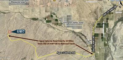 Residential Lots & Land For Sale: 41050 W Pecos Road
