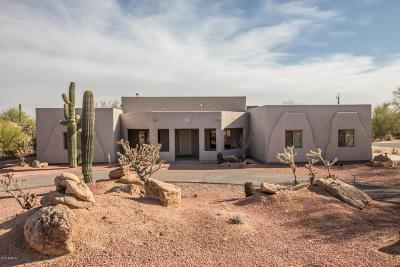 Cave Creek Single Family Home For Sale: 5907 E Montgomery Road