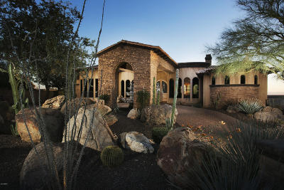 Chandler, Fountain Hills, Gilbert, Mesa, Paradise Valley, Queen Creek, Scottsdale, Gold Canyon, San Tan Valley Single Family Home For Sale: 11861 E Desert Trail Road