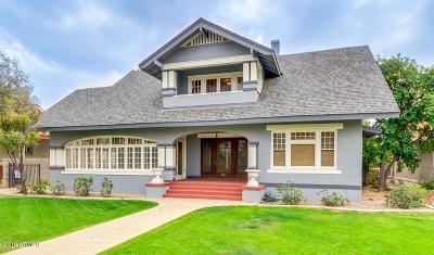 Phoenix Single Family Home For Sale: 325 W Willetta Street