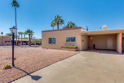 Scottsdale Patio For Sale: 4802 N Miller Road