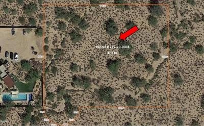 Scottsdale Residential Lots & Land For Sale: 75xxx E Dynamite Boulevard E
