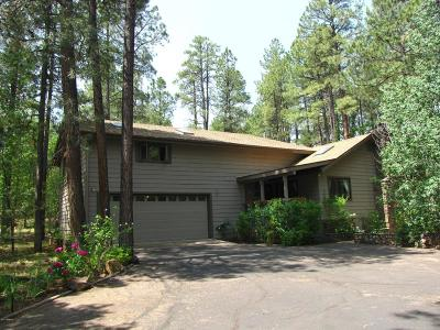 Pinetop Single Family Home For Sale: 3087 Aspen Loop