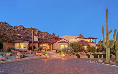 Carefree AZ Single Family Home For Sale: $2,295,000