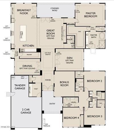 Gilbert Single Family Home For Sale: 2649 E Kesler Lane