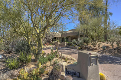 Scottsdale Single Family Home For Sale: 7330 E Arroyo Seco Road