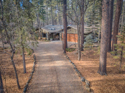 Pinetop Single Family Home For Sale: 2994 White Oak Drive