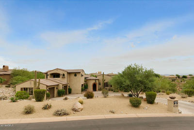 Fountain Hills Single Family Home For Sale: 12205 N Sunset Vista Drive