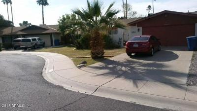 Tempe Single Family Home For Sale: 1653 E Fremont Drive
