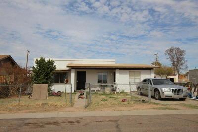 Casa Grande Single Family Home For Sale: 406 W 3rd Avenue