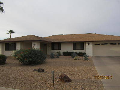 Sun City West Rental For Rent: 12833 W Crystal Lake Drive