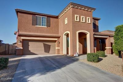 Goodyear Single Family Home UCB (Under Contract-Backups): 15856 W Melvin Street