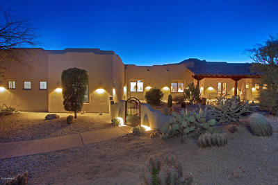 Carefree AZ Single Family Home For Sale: $875,000