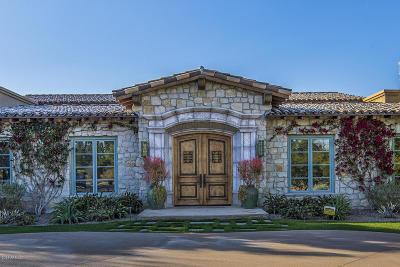 Paradise Valley Single Family Home For Sale: 6414 E Maverick Road