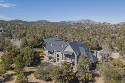 Prescott Single Family Home For Sale: 2031 W Thumb Butte Road
