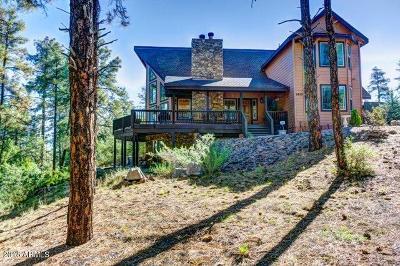 Prescott Single Family Home For Sale: 5475 W Lonesome Hawk Drive