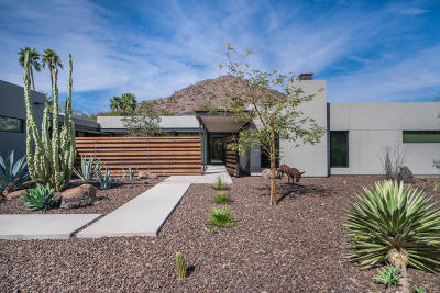 Paradise Valley Single Family Home For Sale: 4848 E Crystal Lane