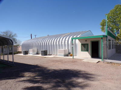 Bouse Commercial For Sale: 27680 Highway 72