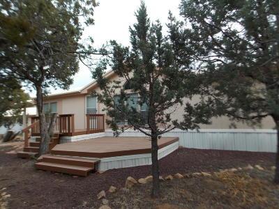 Overgaard AZ Single Family Home For Sale: $179,900