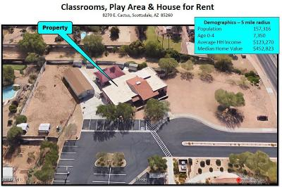 Scottsdale Commercial Lease For Lease: 8270 E Cactus Road