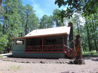 Pinetop Single Family Home For Sale: 3455 Woodpecker Lane