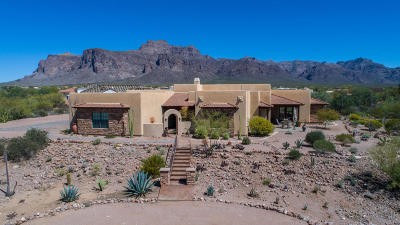 Apache Junction Single Family Home For Sale: 375 S Val Vista Road