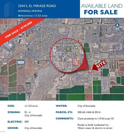 Avondale Residential Lots & Land For Sale: 3344 S 123rd Avenue