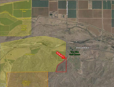 Goodyear Residential Lots & Land For Sale: 7500 S Estrella Parkway