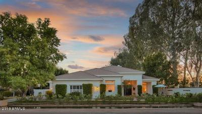 Phoenix Single Family Home For Sale: 4901 E Lafayette Boulevard